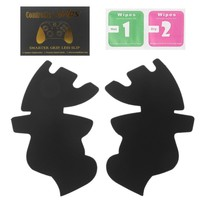 Gamepad Stickers 1 Pair Gamepad Handle Grips Anti Skid Sticker Cover For Xbox One Controller Screen Protectors