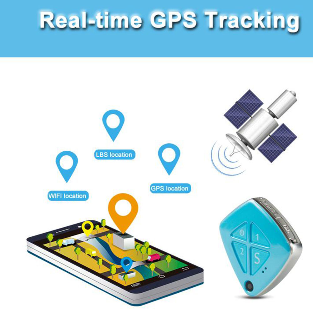 RF-V42 3G Real-time GPS Tracker GSM with Camera SOS Geo Fence Alarm Anti-lost Tracker for Kids Elders LCC77  mini portable gps locator real time tracker sos communicator with lanyard for car person