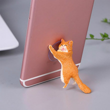 Phone Holder Cute Cat Mobile Support Stand Sucker Tablets Desk Universal For Iphone X 8 6