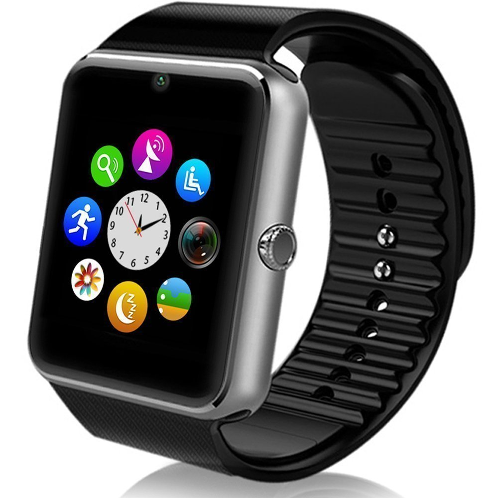 2018 New Bluetooth Smart Watch GT08 Smartwatch Phone With SIM TF Card Camera Sport Fitness Tracker WirstWatch For Android Phone