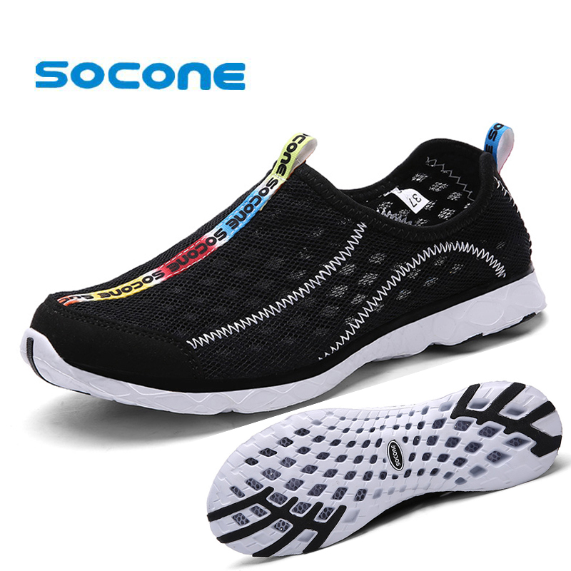 Unisex Men Summer Running Shoes Women Sneakers Mesh ...