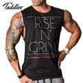 Homens Regata Longarina Suspiro Marca Mens Musculação Singlets Camisetas Roupas de Fitness Masculino Colete Muscular Tanque Sem Mangas
