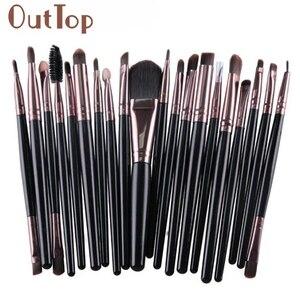 20pcs Makeup Brushes Set cosmetic tools Make-up Toiletry Kit