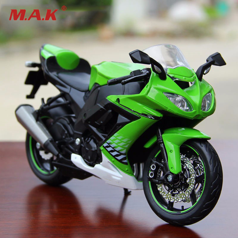1/12 Diecast Motocycle Toy Ninja ZX-10R Racing MOTORCYCLE Model Collection Kids Gifts