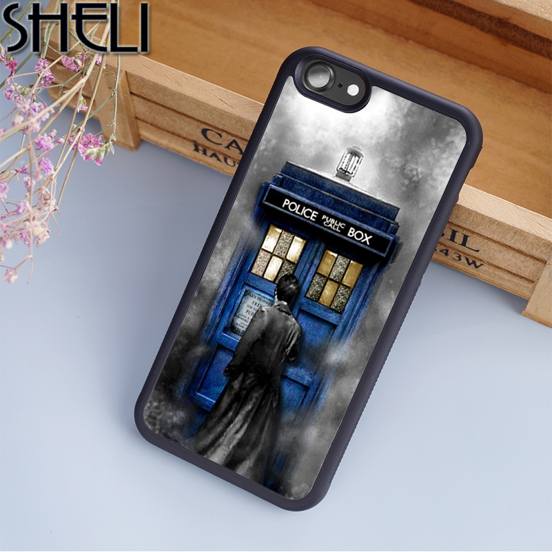 Lvhecn Tardis Doctor Dr Who Police Box Bad Wolf Phone Case Cover For Iphone 6 6s 7 8 X Xr Xs Max 5 5s Se Galaxy S6 S7 S8 S9 Plus Phone Bags & Cases Cellphones & Telecommunications