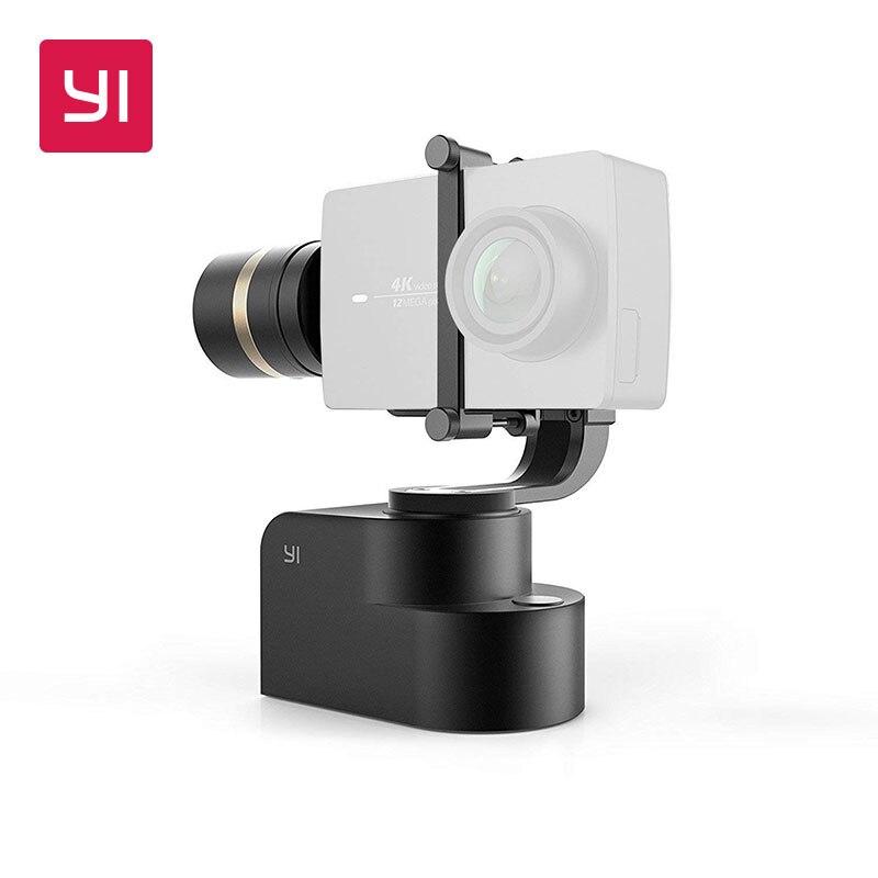 YI Handheld Gimbal 3-Achse Handheld Stabilisator für YI Lite, 4 karat, 4 karat + und andere Action Kameras (Gimbal Nur)