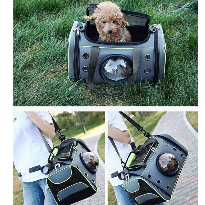 2019 New Pet Carrying Case Bag Comfortable Space Capsule Portable Cat Travel Handbag Breathable Dog Out Bag Strap Carrier2019 New Pet Carrying Case Bag Comfortable Space Capsule Portable Cat Travel Handbag Breathable Dog Out Bag Strap Carrier