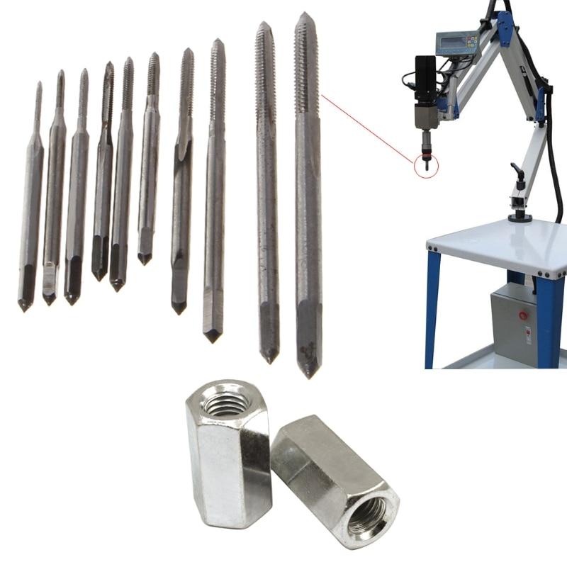 Мини HSS высокоскоростная стальная Метрическая машина вилка резьба Винт кран инструмент M1-M3.5