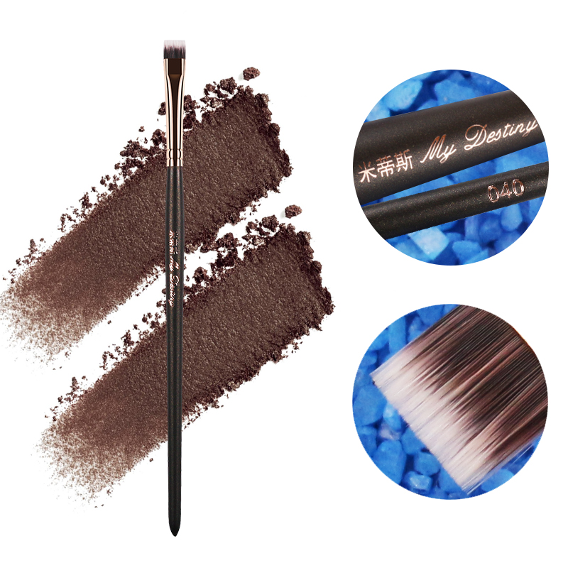 MIJN BESTEMMING Professionele Flat Hair Concealer Brush Up Kwasten Make Up Tool Pincel Pinceis Maquiagem Pinceaux Brochas 040
