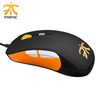 Original Steelseries mouse Rival Fnatic Edition 6500 DPI Gaming mouse USB professional Optical Gaming Mice