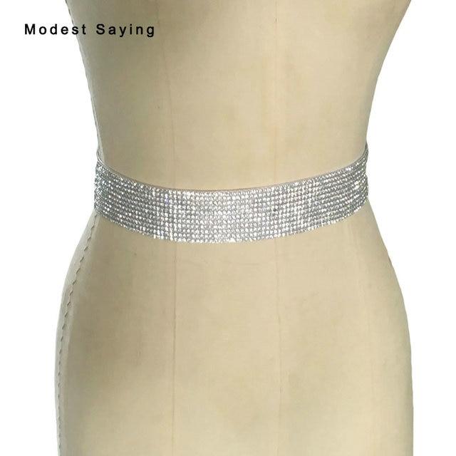 fb8b8c6db1b8b Charmant argent brillant cristal ceintures de mariée perlées de mariage  ceintures 2017 ceinture ceinture femme strass