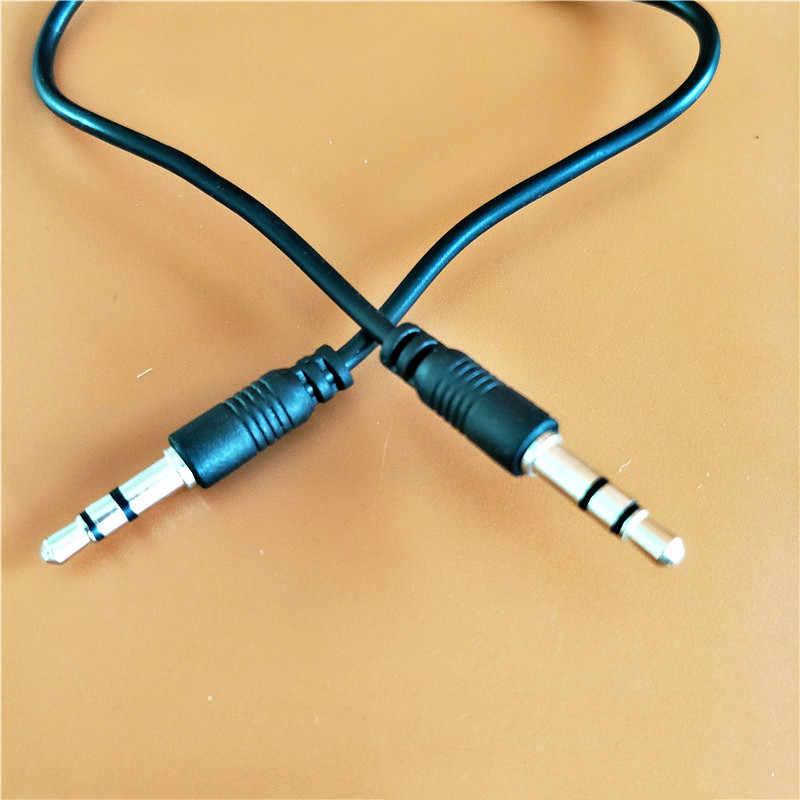 3.5mm Jack wtyczka do kabla Audio 3.5 Mm męski na męski Audio przewód AUX dla Samsung S10 uwaga 9 samochodu zestaw słuchawkowy z głośnikiem linia drutu przewód Aux