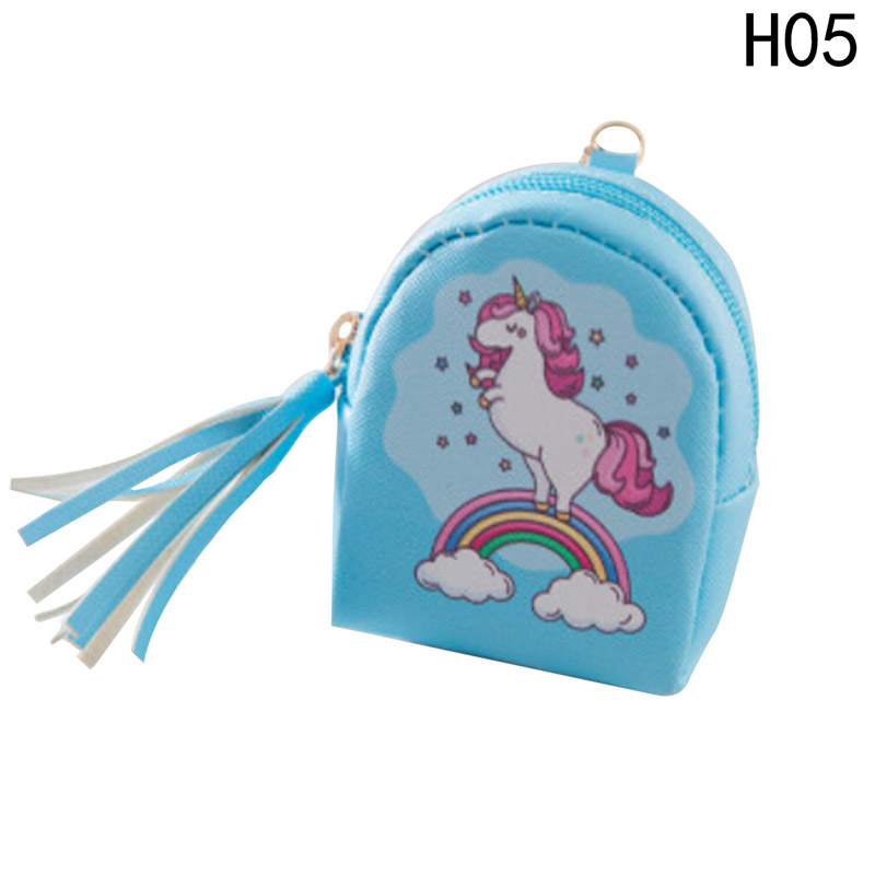 Cartoon Horse Coin Purses Women Wallets Small Cute Card Holder Key Money Bags For Girls Ladies Kids Children girls mini messenger bag cute plush cartoon kids baby small coin purses lovely baby children handbags kids shoulder bags bolsa