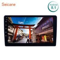 Seicane 2din android 8,1 Автомобильный gps navi головное устройство плеер для Mitsubishi OUTLANDER 2004 2007 поддержка USB AUX wifi Зеркало Ссылка SWC