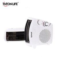 TINTON LIFE Cooling Mini Warmer Fans 500W Heater Home Heater Warm Feet Ceramic Electric Heater Mini Electric Heater Space Warmer
