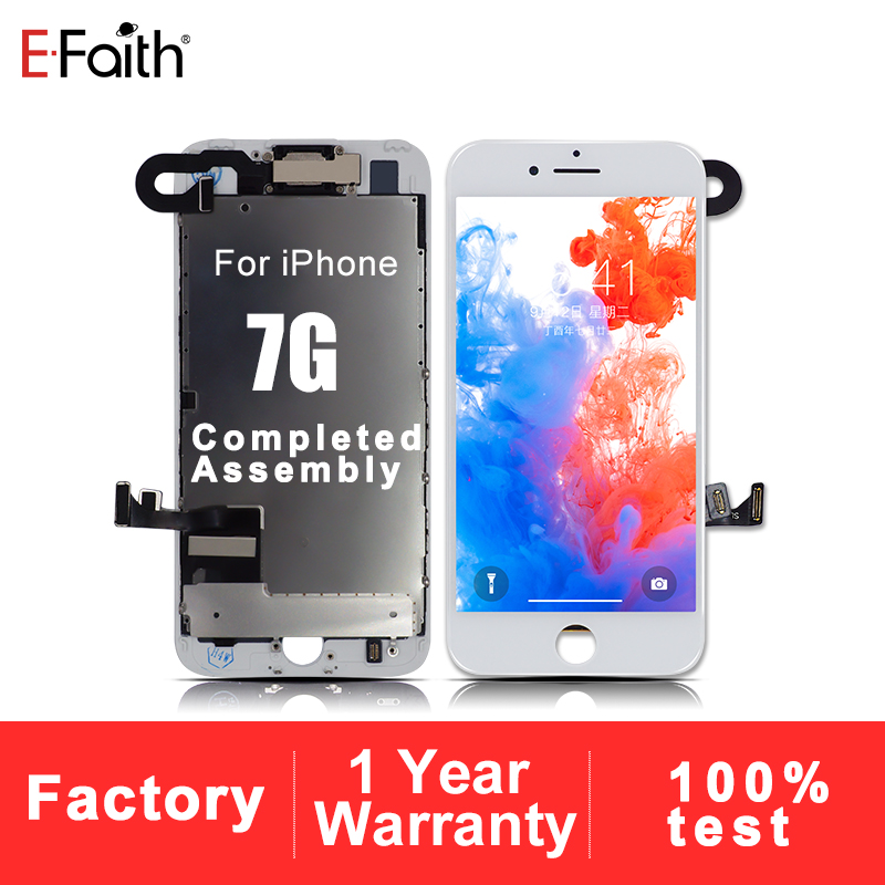 Screen Or Display For iPhone 7 7G Complete LCD With Front Camera Full Set Assembly Display