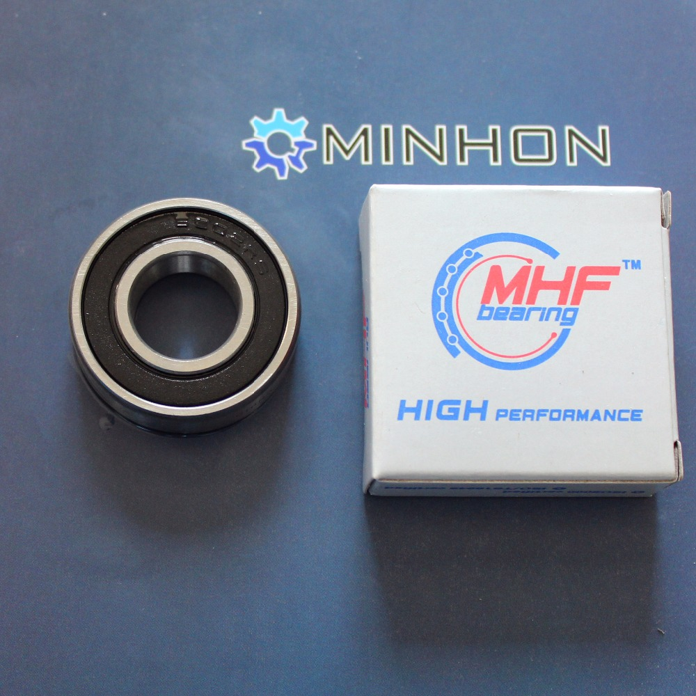 MHF 6202RS-16 6202 16mm One Rubber Seals Miniature Radial Ball Bearings Best Price High Performance
