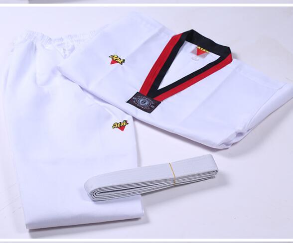 Hot Sale Kimono Karate White Coach Service Children Taekwondo Clothes Kung Fu Outfit