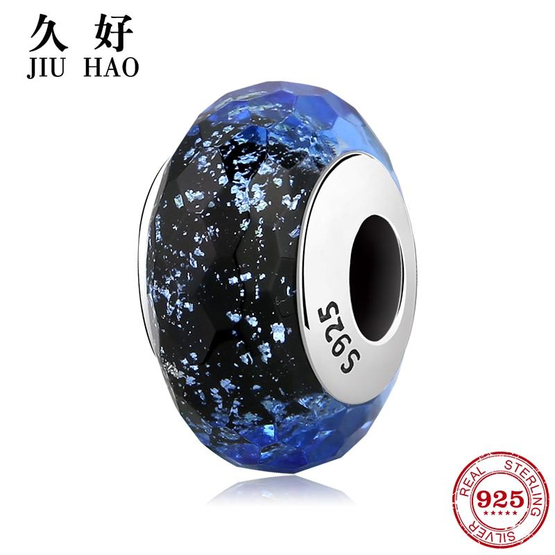 Perlen & Schmuck Machen Ordentlich 100% Authentische 925 Sterling Silber Blau Murano Glasperlen Fit Ursprüngliche Pandora Charme Armband Schmuck Zur Verbesserung Der Durchblutung