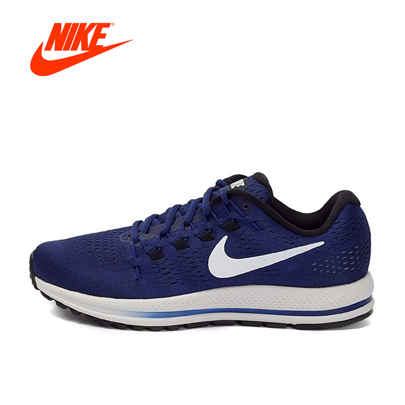 Original New Arrival Official Nike AIR ZOOM VOMERO 12 Breathable Mens Running Shoes Sports Sneakers Comfortable Outdoor