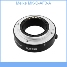 Meike MK-C-AF3-A Metal Auto Focus AF Macro Extension Tube DG Set 10mm 16mm for Canon EOS M M2 Mount Micro DSLR Camera