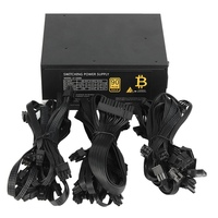 1600W Modular Mining Power Supply GPU For Bitcoin Miner Eth Rig S7 S9 L3 D3 High