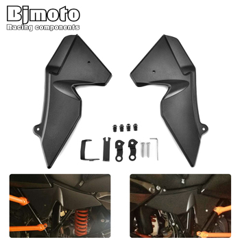 BJMOTO Motorcycle Moto bike Radiator Cover Side Panel For KTM 1290 Super Adventure 1050 1090 1190 Adventure ADV R/T/S Protector