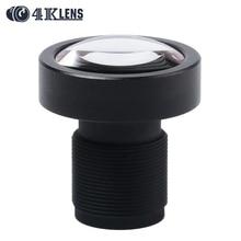 4K LENS 3 8MM CCTV Lens 1 2 3 12MP M12 Mount Low Distortion 95Degree for