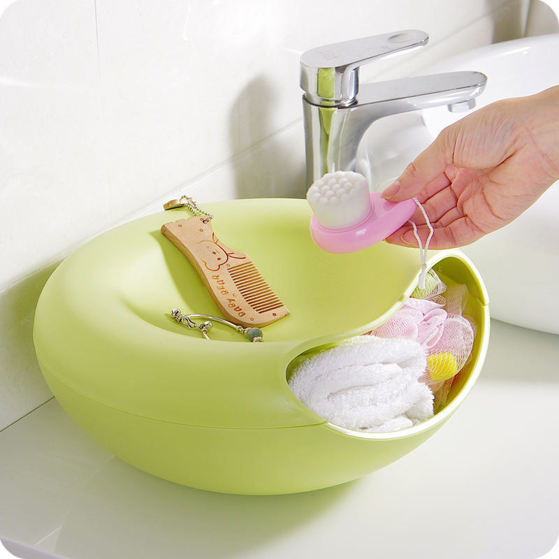 High Quality Home Decor Snack Candy Dish Plastic Food Tray For Office  Desktop Organization Storage Plates. In Storage Trays From Home U0026 Garden On  ...