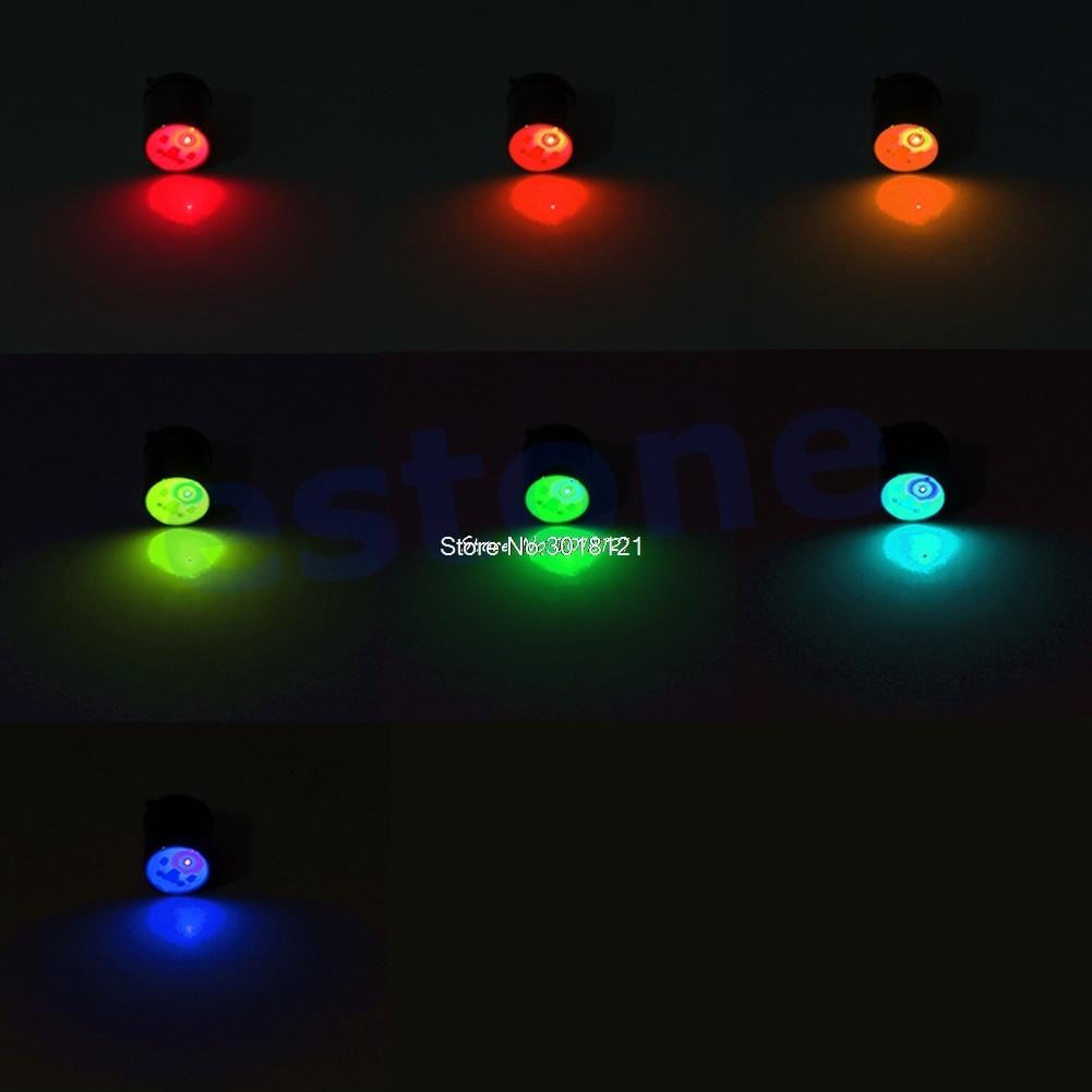LED Mini Underwater Deep Drop Fishing Squid Fish Lure Light Flashing Lamp 2Color