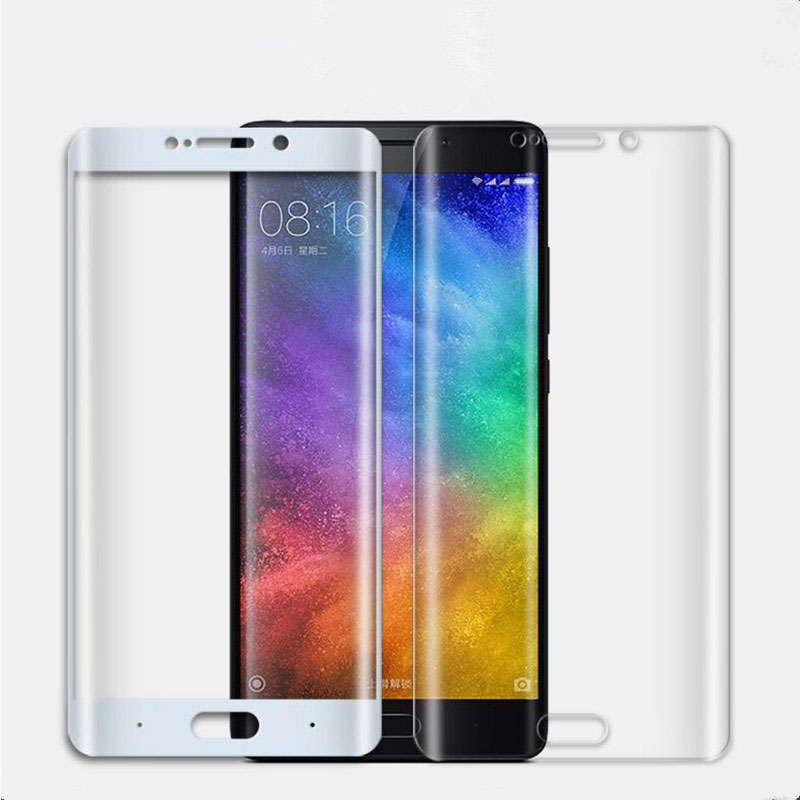 Screen-Protector-Film Tempered-Glass-Film Mi-Note Curved-Surface Xiaomi For 2 3D Anti-Explosion