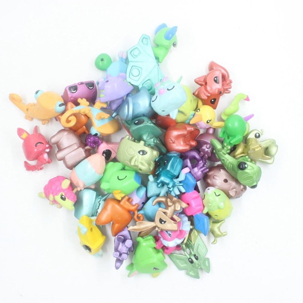 Random Pick 10.20.50.100 PCS Animal Jam Adopt A Pet Collect Figure Kid Movies Toy