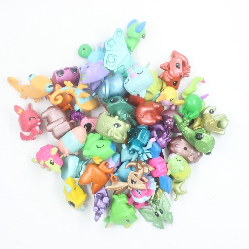 Random Pick Different 10.20.50.100 PCS Animal Jam Adopt A Pet Collect figure kid movies toy
