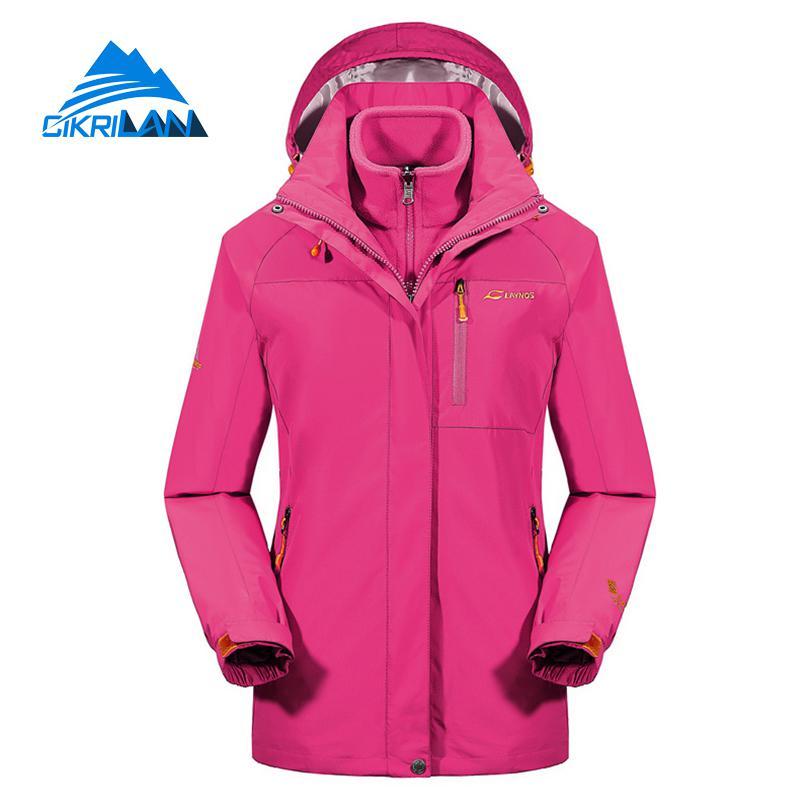 Hot Sale Winter Warm Ski Hiking Camping Outdoor Jacket Women Windstopper Waterproof Sportswear Coat Snowboard Jaqueta