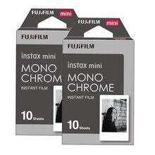 2 packs fuji fujifilm instax mini instantâneo film monochrome papel fotográfico para Mini 8 7 s 7 50 s 50i 90 Câmeras de 25 dw Share SP-1