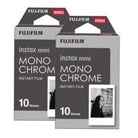 2 packs Fuji Fujifilm Instax Mini Instant Film Monochrome Photo Paper For Mini 8 7s 7 50s 50i 90 25 dw Share SP 1 Cameras