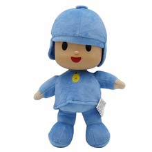 High quality Pocoyo Elly Pato Loula Dog Duck Elephant Soft Toy Stuffed Animal Plush Doll Toys For Children Christmas Gift