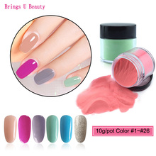 Very Fine 10g/Box Dipping Powder Nails Warm Colors Red Pink Glitter Nail Dip Powder No Lamp Cure Natural Dry as Nail Gel Effect