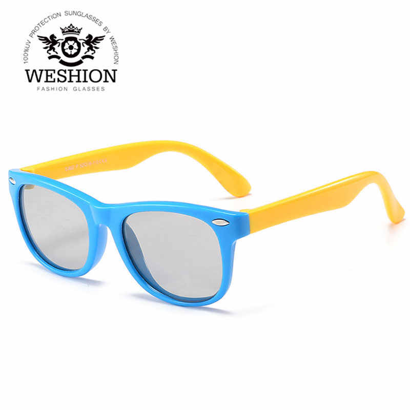 e98c8be4cfc Detail Feedback Questions about Square Photochromic Kids Sunglasses ...