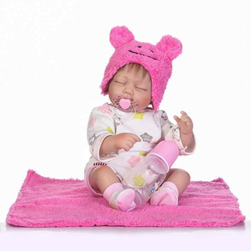 Kawaii 22 inch Twins Babypop Siliconen Reborn Pop 55 CM BeBe Reborn Levensechte Realistische Pop Voor Kinderen Verjaardagscadeau brinquedos