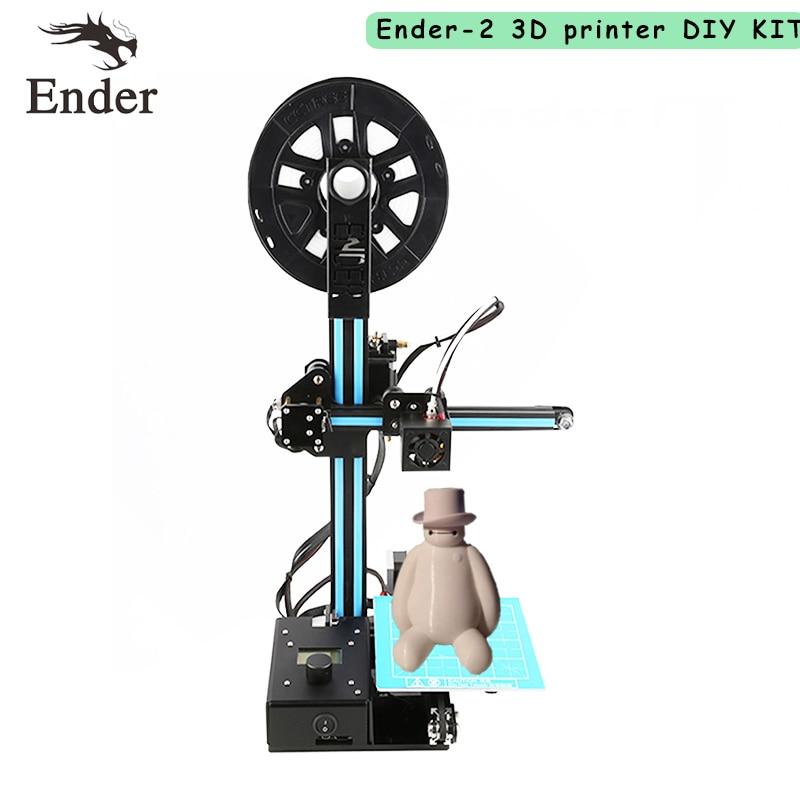 2017 Ender 2 Mini 3D printer Easy Assemble cheap Printer 3d DIY KIT Machine Reprap prusa