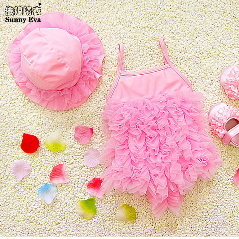 6a3ee87ce17d2 sunny eva girls mesh one-piece swimming swimwear female one piece ...