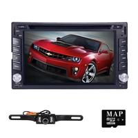 6 2din AutoRadio Car Multimedia Car DVD Player For Nissan Tape Recorder GPS Navi Stereo In