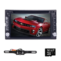 6 2din AutoRadio Car Multimedia Car DVD Player For Nissan Tape Recorder GPS Navi Stereo In