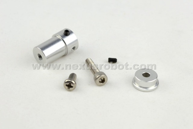 4mm Aluminum Mounting Hub(coupling) 18013