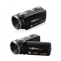 HOT 2018 3.0'' inch 8MP HD 1080P 72 degree Digital 16X Zoom Camera DV Camcorder RC Anti Shake Black Multilanguage US plug