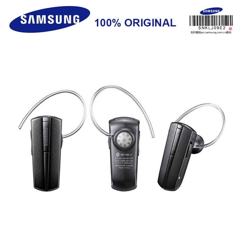 jetblue m9b bluetooth v3 0 business headset w microphone for iphone samsung black silver SAMSUNG HM1200 Bluetooth Earphones with Microphone Black In-ear Wireless Stereo Business Headset Bluetooth 3.0 Official Genuine