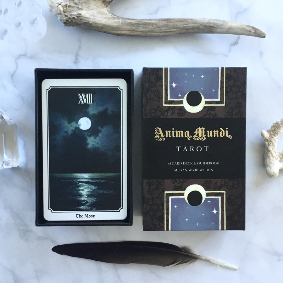 Anima Mundi Tarot English Version Playing Card Tarot Board Game Card