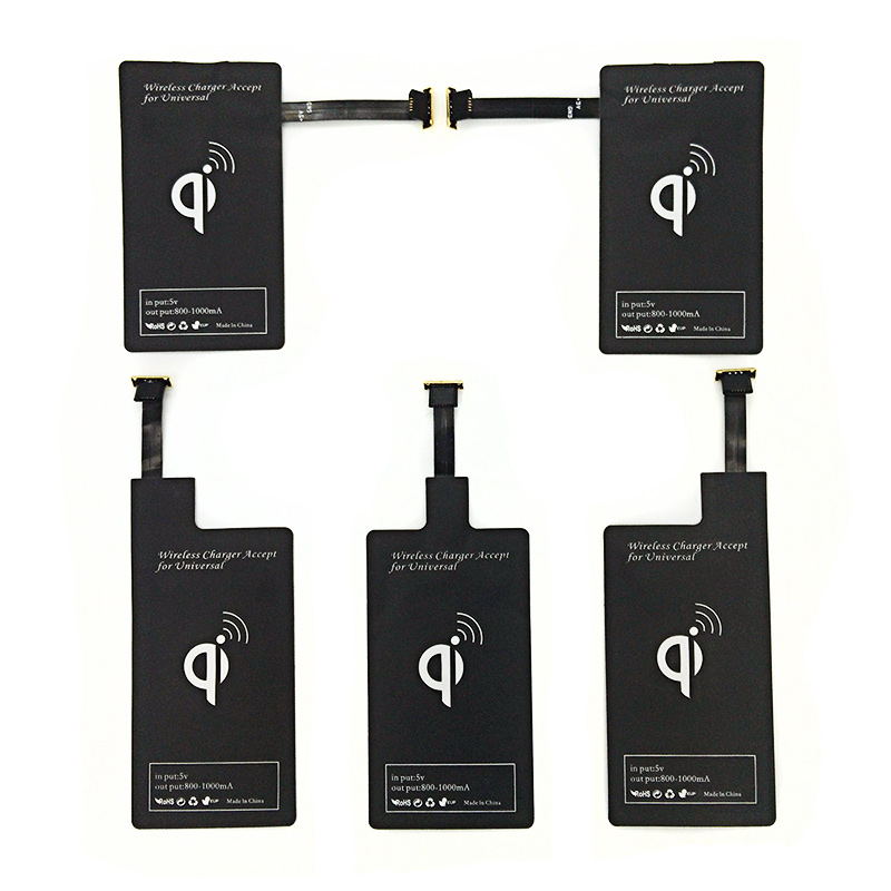Micro USB Qi Wireless Charger Receiver TI-Chip Module for Samsung HTC LG Sony Nokia OnePlus 1 Oppo Vivo Micro USB SmartPhones