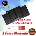 Оптовая продажа новый аккумулятор для ноутбука APPLE MACBOOK AIR 13.3 2013 A1466 MD760 MD761 A1496